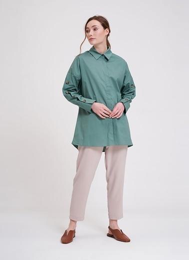Mizalle Tunik Yeşil